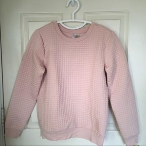 Forever 21 Baby Pink Crewneck